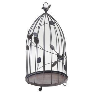 Photo ACA117S : Cages en métal vieilli