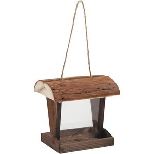 Photo AMA1560 : Mangeoire à oiseaux en bois et PVC