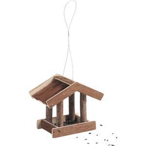 Photo AMA1650 : Mangeoire à oiseaux en bois