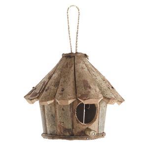 Photo AMA1700 : Round wooden bird house