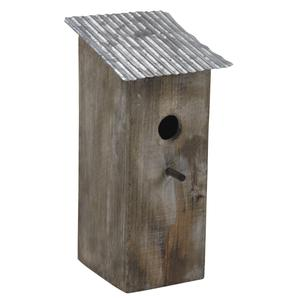 Photo AMA1730 : Wood and zinc bird house
