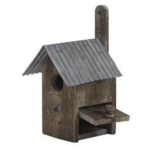 Photo AMA1740 : Wood and zinc bird house