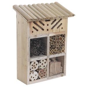 Photo AMI1090 : Maison à insectes en bois et bambou