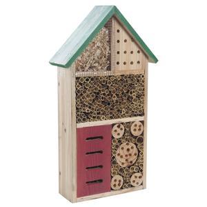 Photo AMI1110 : Maison à insectes en bois et bambou