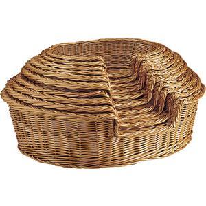 Photo ANI109S : Buff willow pet baskets