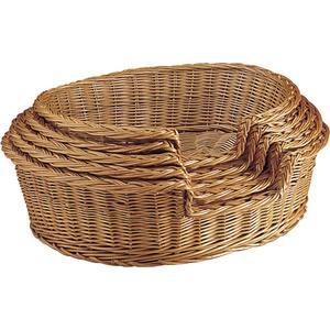Photo ANI110S : Buff willow pet baskets