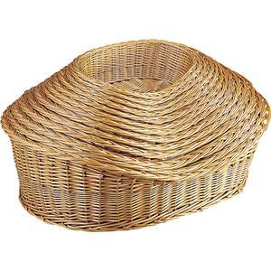Photo ANI117S : Buff willow pet baskets