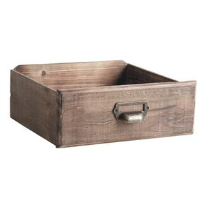 Photo CCO909SP : Corbeilles tiroirs en bois teinté