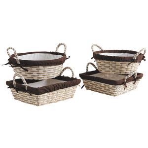 Photo CDA5490C : Bamboo and paper rope basket