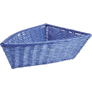Photo CFA2580 : Boat-shaped polyrattan basket