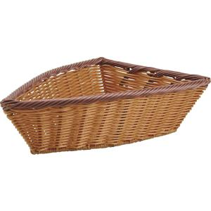 Photo CFA2621 : Boat-shaped polyrattan basket