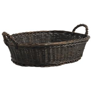 Photo CPR3050 : Stained willow display basket