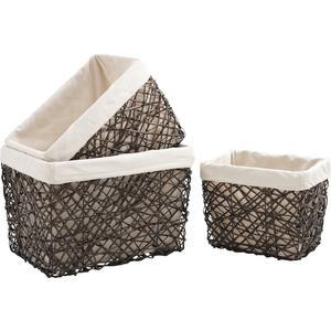 Photo CRA356SC : Split willow baskets