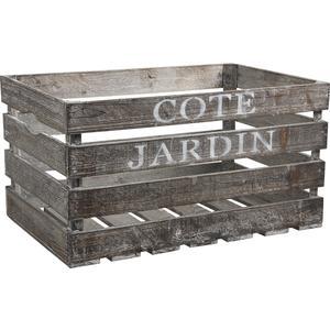 Photo CRA3581 : Caisse en bois Côté Jardin