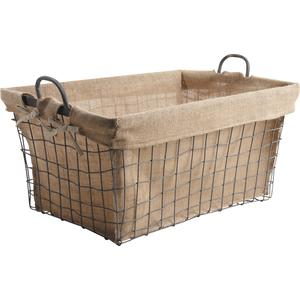 Photo CRA3940J : Metal log basket