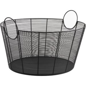Photo CUT1420 : Metal log basket