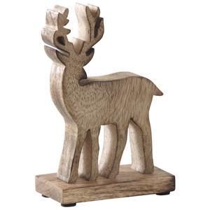 Photo DAN2540 : Cerf en bois vieilli