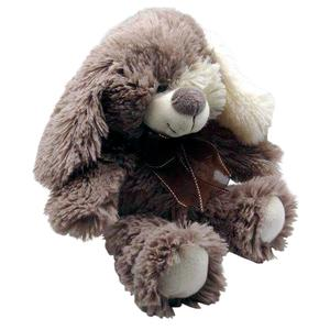 Photo DAN2821C : Peluche chien gris