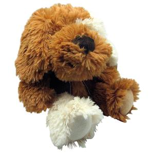 Photo DAN2831C : Peluche chien brun