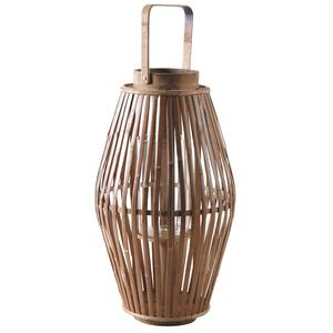 Photo DBO2630V : Natural bamboo lantern