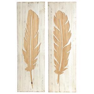 Photo DCA2360 : Cadre plume en bois peint