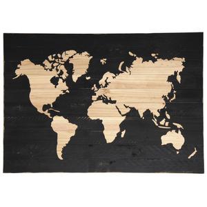 Photo DCA2380 : Mappemonde en bois peint