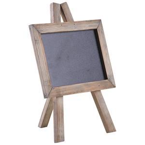 Photo DCA2410 : Petit tableau noir en bois teinté