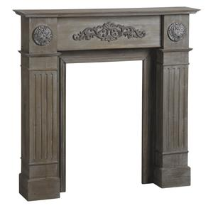 Photo DCH1030 : Wooden decorative fireplace