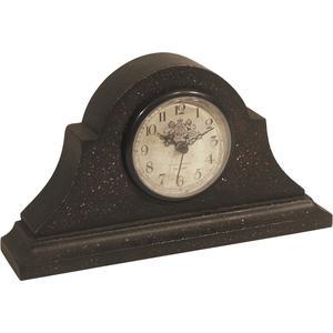 Photo DHL1080 : Horloge de cheminée en bois