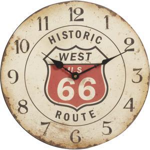 Photo DHL1290 : Horloge en bois Route 66