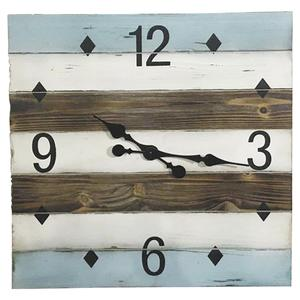 Photo DHL1520 : Horloge en bois