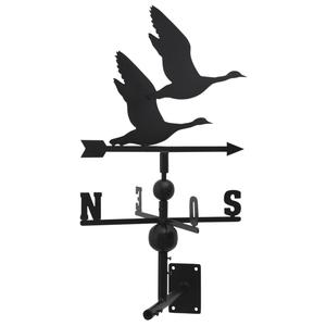 Photo DMU1490 : Wrought iron weather vane with wild goose design