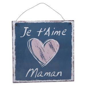 Photo DMU1680 : Pancarte Je t'aime Maman
