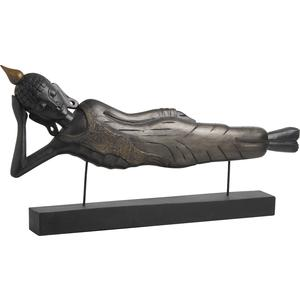 Photo DST1190 : Statue Bouddha couché