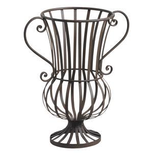 Photo DVA1510 : Vase décoratif en métal veilli