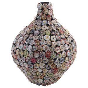 Photo DVA1520 : Vase boule en papier recyclé