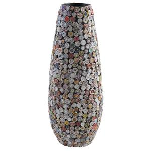 Photo DVA1530 : Vase en papier recyclé