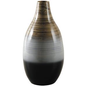 Photo DVA1650 : Vase en bambou laqué