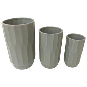 Photo DVA168SV : Vases gris en céramique