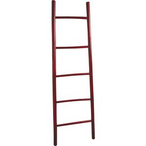Photo DVI1431 : Red bamboo ladder 150cm