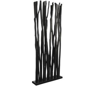 Photo DVI1860 : Socle + 19 tiges de bois noir