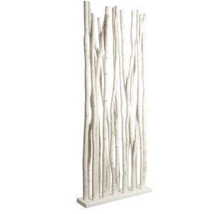 Photo DVI1870 : Socle + 19 tiges de bois blanc