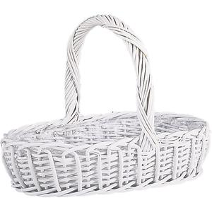 Photo FCO237S : White lacquered willow baskets