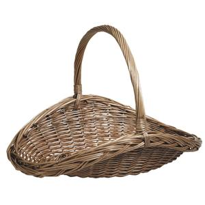 Photo FCO525S : Stained willow basket with handle