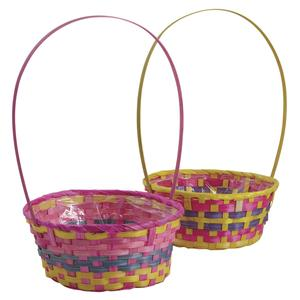 Photo FCO5280P : Round bamboo basket