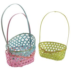 Photo FCO5310 : Oval bamboo basket