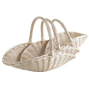 Photo FCO547S : White willow fruit baskets