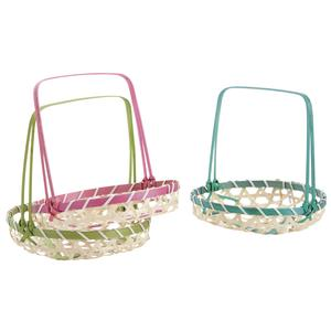 Photo FCP2121 : Round bamboo basket