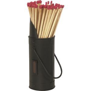 Photo GCH1190 : Petit seau + 60 allumettes de cheminée