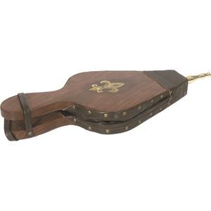 Photo GCH1210 : Soufflet en bois et simili cuir